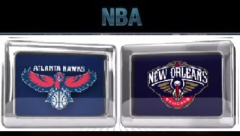 Atlanta Hawks vs New Orleans Pelicans Friday, November 6 2015