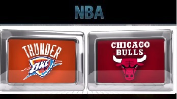 Oklahoma City Thunder at Chicago Bulls Friday, November 6 2015