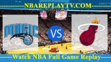 Orlando Magic vs Miami Heat – Oct 17, 2018