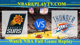 Phoenix Suns vs Oklahoma City Thunder – Nov 12, 2018