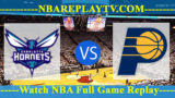 Charlotte Hornets vs Indiana Pacers – Nov 07, 2016