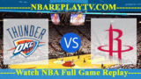 Game 1: Oklahoma City Thunder vs Houston Rockets – Apr 16, 2017