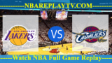 Cleveland Cavaliers vs Los Angeles Lakers – July 16, 2018