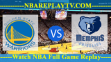 Memphis Grizzlies vs Golden State Warriors – Nov 05, 2018