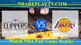 Los Angeles Lakers vs LA Clippers – Apr 11, 2018