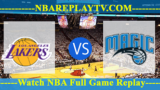 Game 1: Orlando Magic vs Los Angeles Lakers – June 4, 2009
