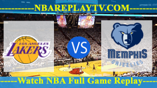 Los Angeles Lakers vs Memphis Grizzlies – Mar 24, 2018