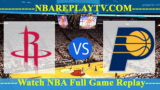 Houston Rockets vs Indiana Pacers – Nov 11, 2018