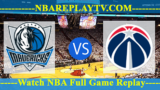 Washington Wizards vs Dallas Mavericks – July 13, 2018